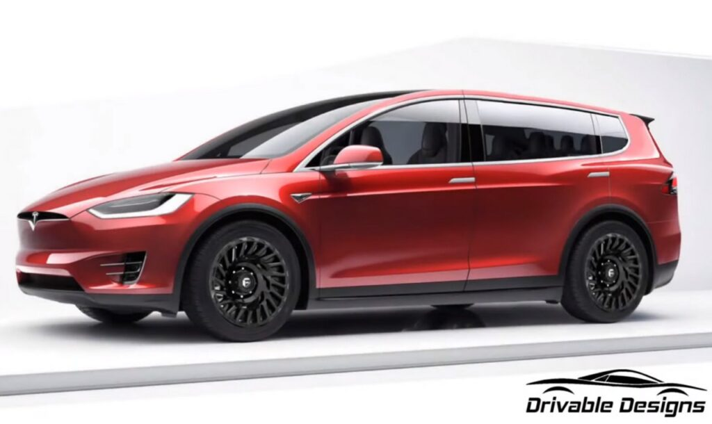 Tesla XL: il minivan elettrico di Elon Musk [RENDER]