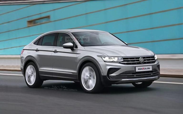 Volkswagen Tiguan: in arrivo la versione coupé? [RENDER]