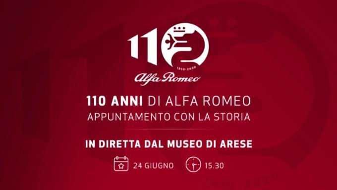 Alfa Romeo: tutto pronto per la festa dei 110 anni di storia del 24 giugno 2020 [STREAMING]