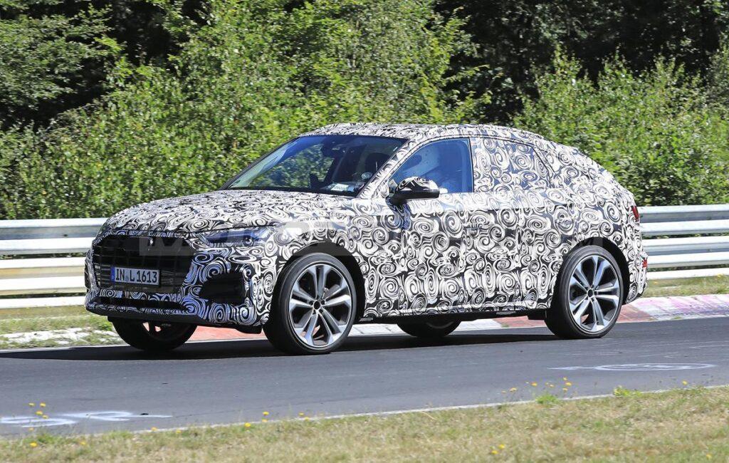 Audi Q5 Sportback - Foto spia 23-07-2020