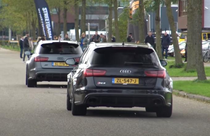 Audi RS6 Avant, che sinfonia! Carrellata di accelerazioni di esemplari con scarico Milltek [VIDEO]