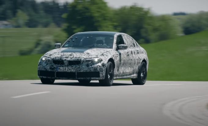 BMW M3 2020: immagini dal Nurburgring e anticipazioni nel primo teaser ufficiale [VIDEO]