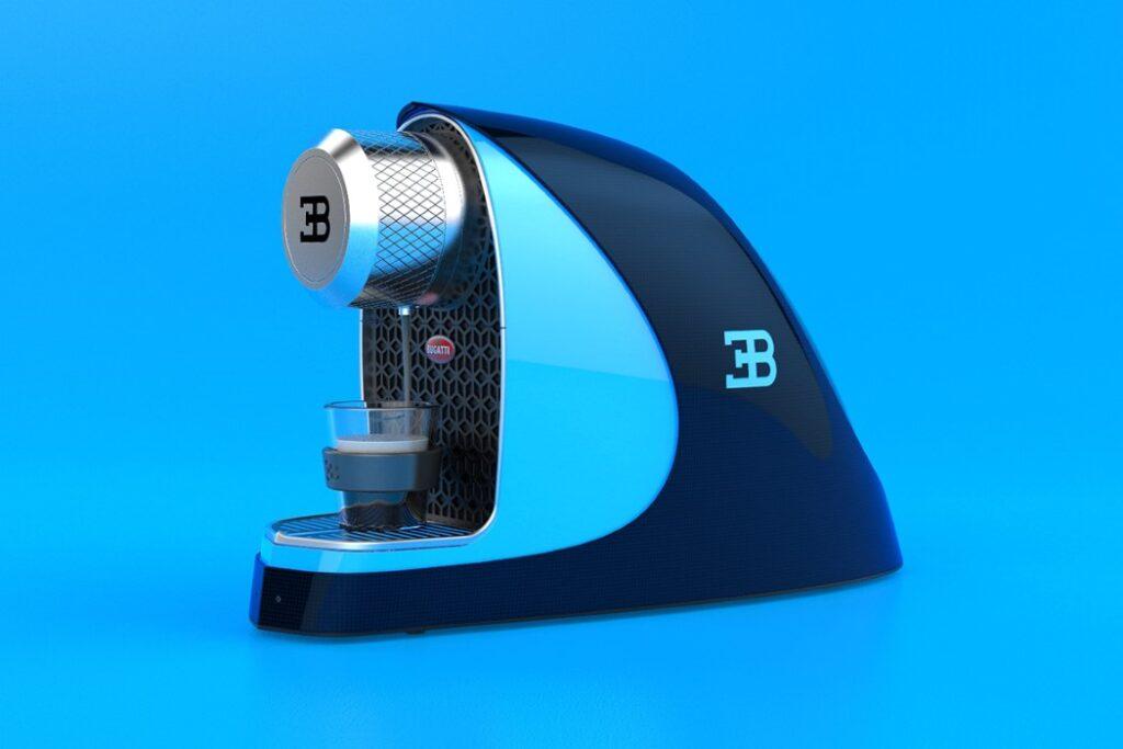 Bugatti Etiron - Macchinetta del caffe - Render