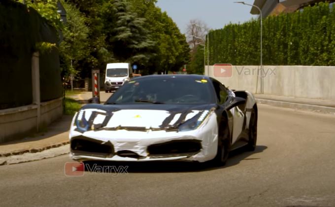 Ferrari V6 Hybrid: prove in strada per il prototipo del nuovo modello [VIDEO SPIA]