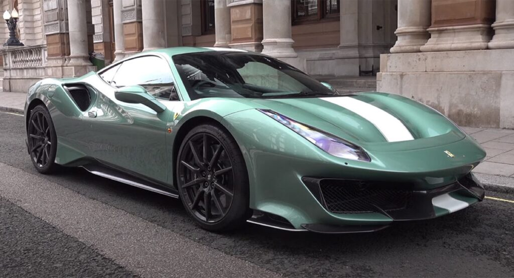 "Ferrari 488 Pista: la splendida One-Off in tonalità ""Verde Francesca"" [VIDEO]"