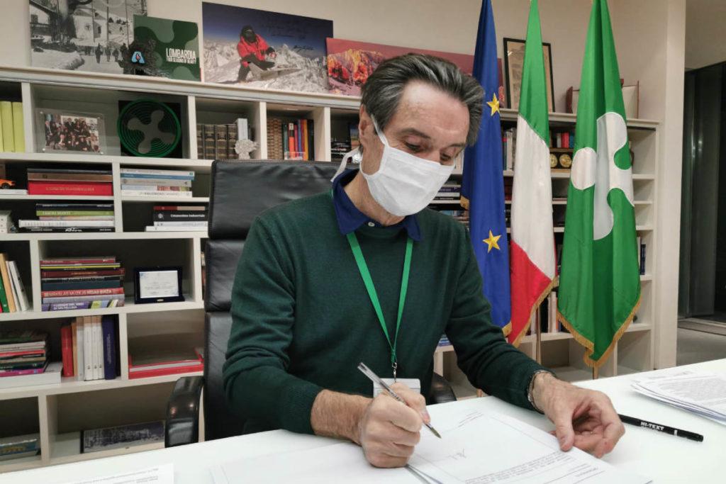 Coronavirus Lombardia: obbligo mascherine fino al 14 luglio