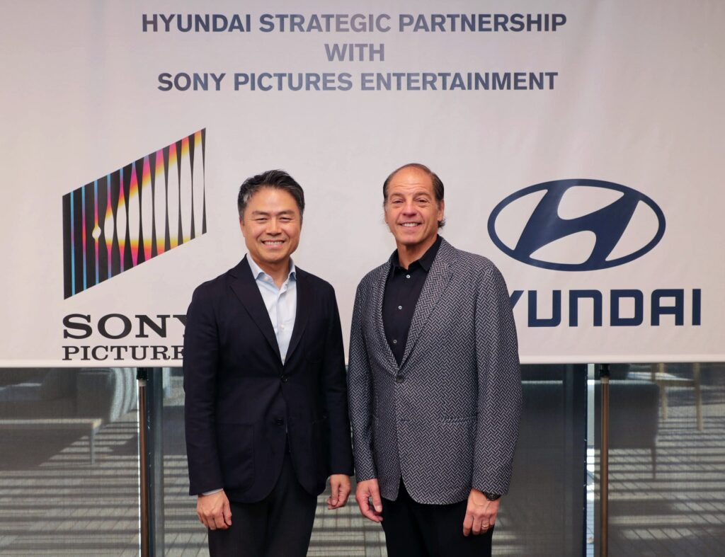 Hyundai e Sony Pictures Entertainment: siglata una partenership promozionale multi-picture