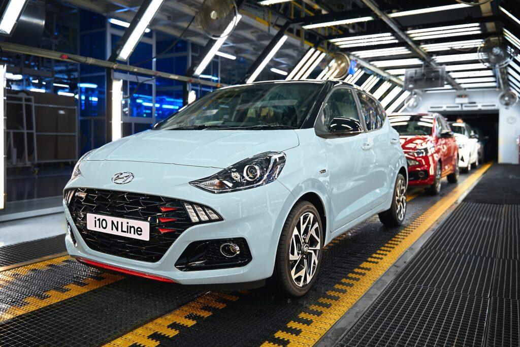 Hyundai i10 N Line: via alla produzione in Europa