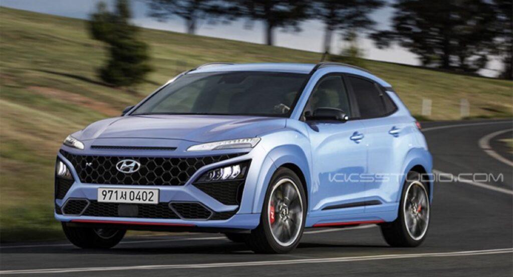 Hyundai Kona N: ecco l'ipotesi stilistica del crossover sportivo [RENDER]