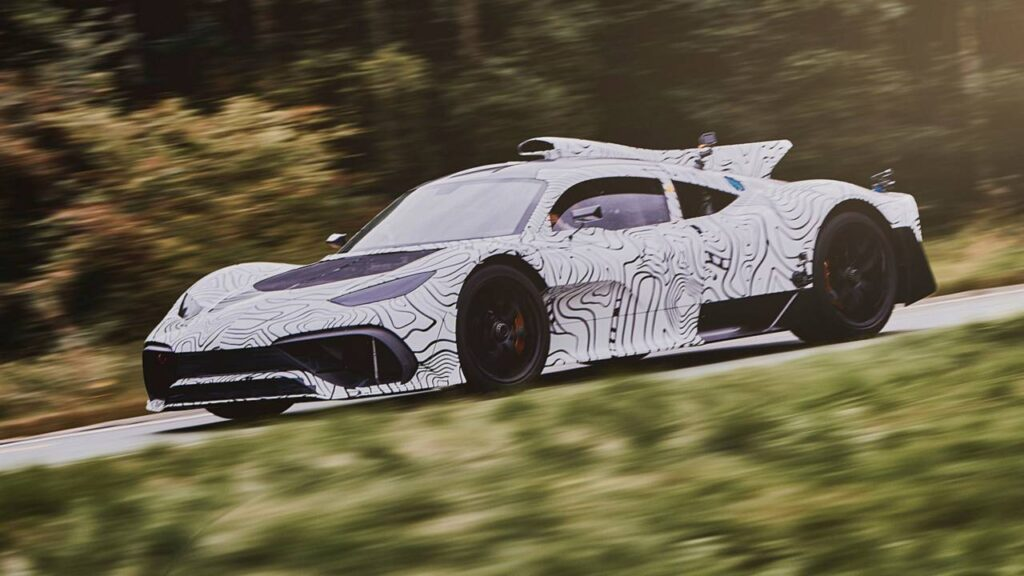 Mercedes-AMG Project One 2021: continuano i test della Hypercar con motore da F1 [FOTO SPIA]