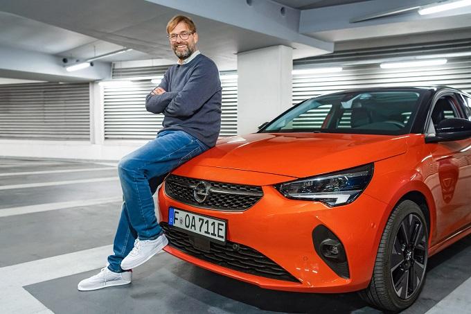 Opel, colpo vincente per il brand ambassador Jurgen Klopp col trionfo del Liverpool in Premier League