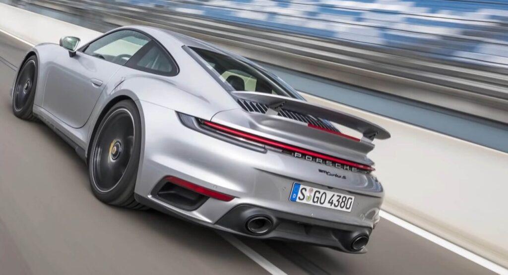 Porsche 911 Turbo S 2021: più veloce su pista della Huracan Performante e della Ferrari 488 [VIDEO]
