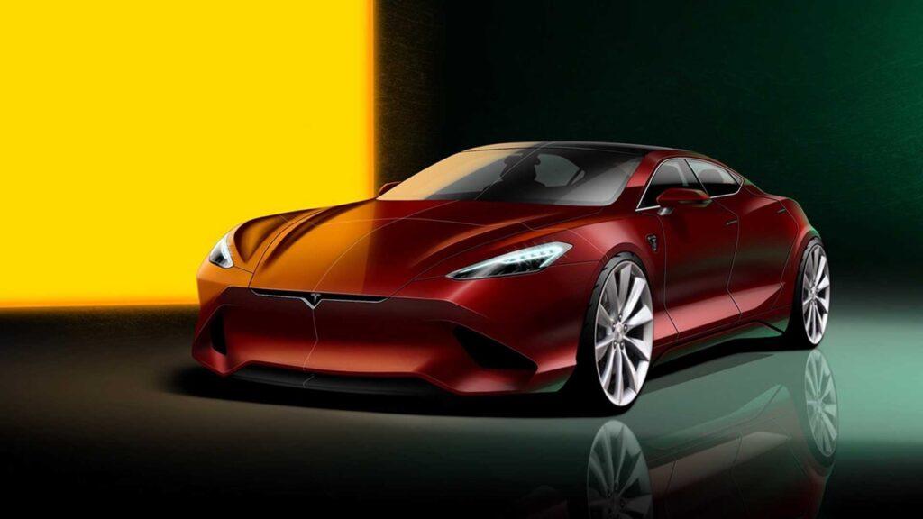 Tesla Model S: il RENDER che potrebbe anticipare le linee del futuro