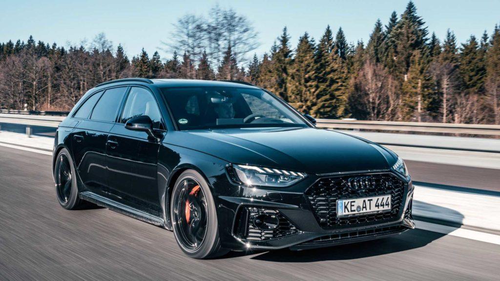 Audi RS4 Avant 2020: le cure ABT la portano a 530 CV [VIDEO]