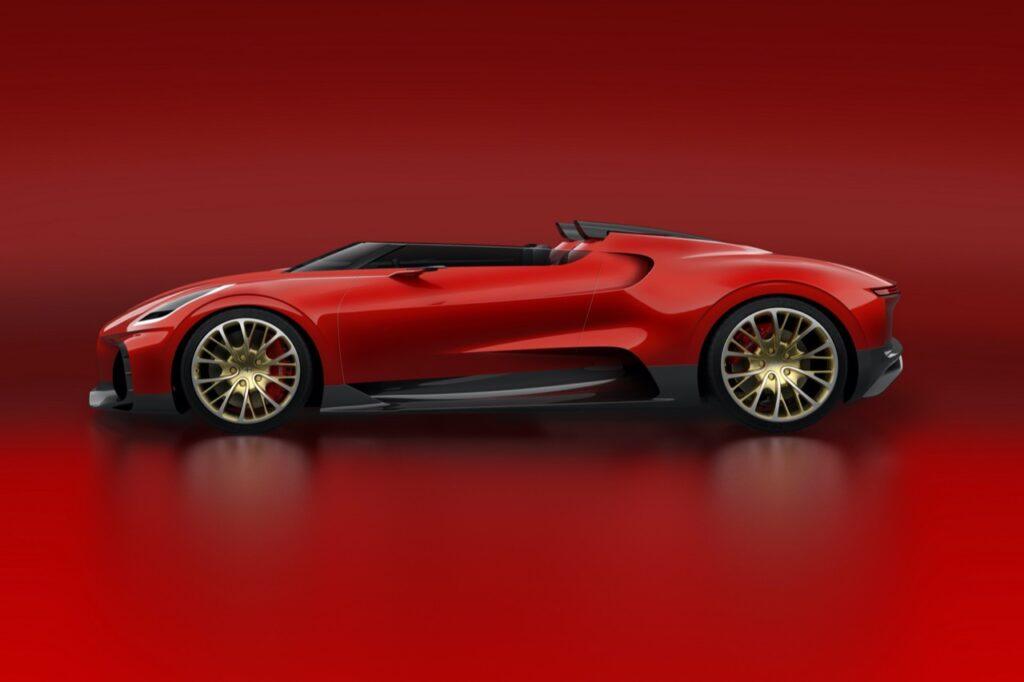 Bugatti Chiron Speedster: possibile one-off a cielo aperto all'orizzonte [RENDER]
