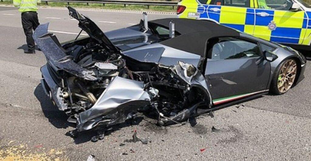 Lamborghini Huracan Performante Spyder: l'incidente 20 minuti dopo averla ritirata dal concessionario