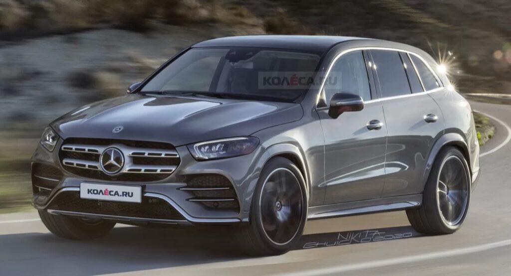 Mercedes-Benz GLC 2022: ipotizzato il prossimo modello con questo RENDER
