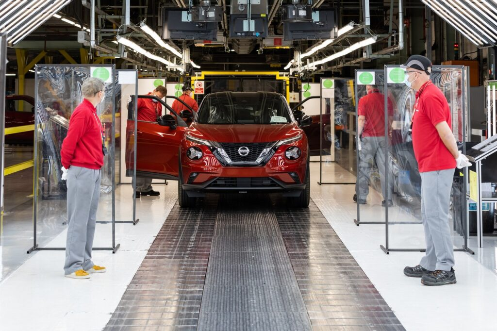 Nissan: ripresa la produzione a Sunderland, con la nuova Juke