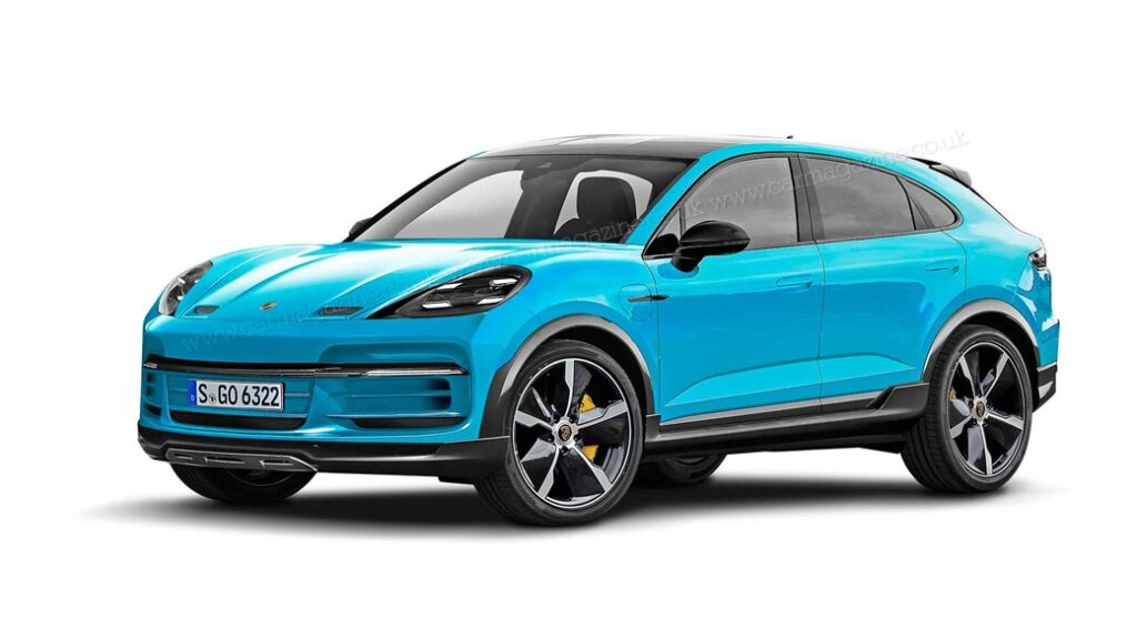 Porsche Macan 2022: la nuova elettrica del marchio tedesco [RENDER]