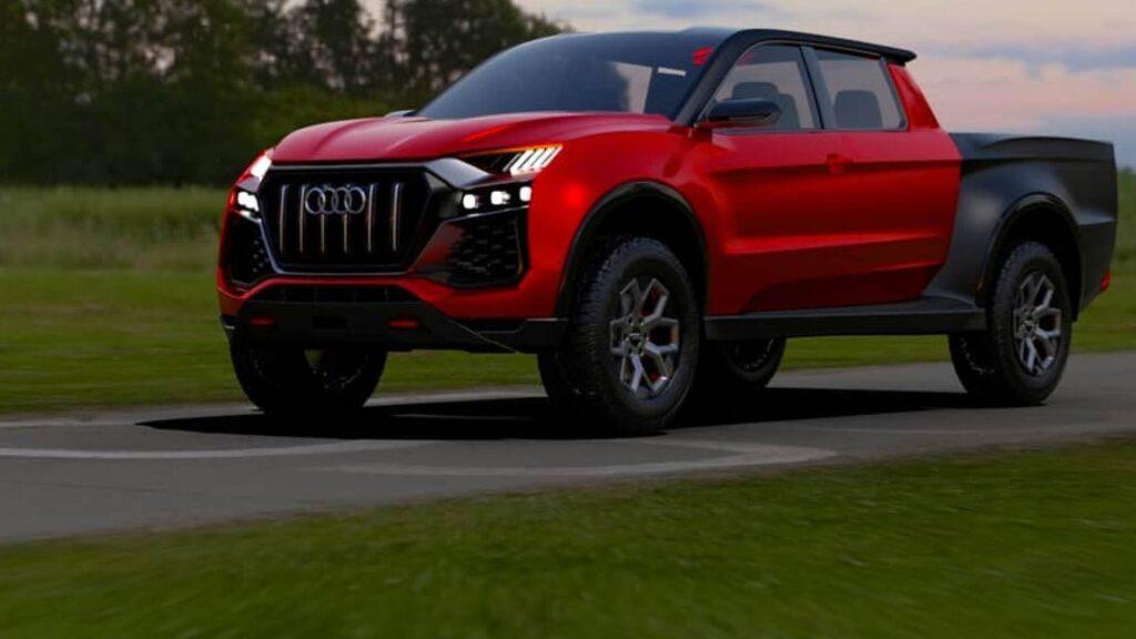Audi e pick-up: un mix micidiale? [RENDER]