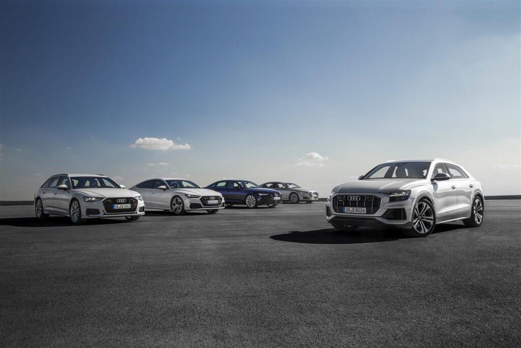 Audi alta gamma - Dotazioni 2020
