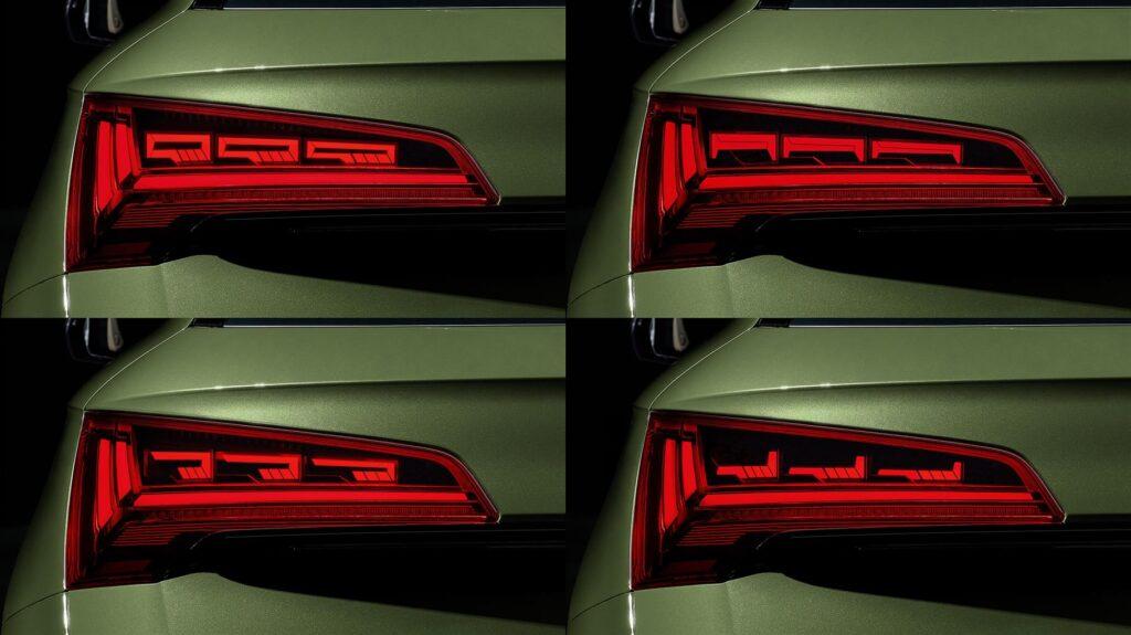 Audi, l'evoluzione dell'illuminazione: i nuovi gruppi ottici con tecnologia OLED
