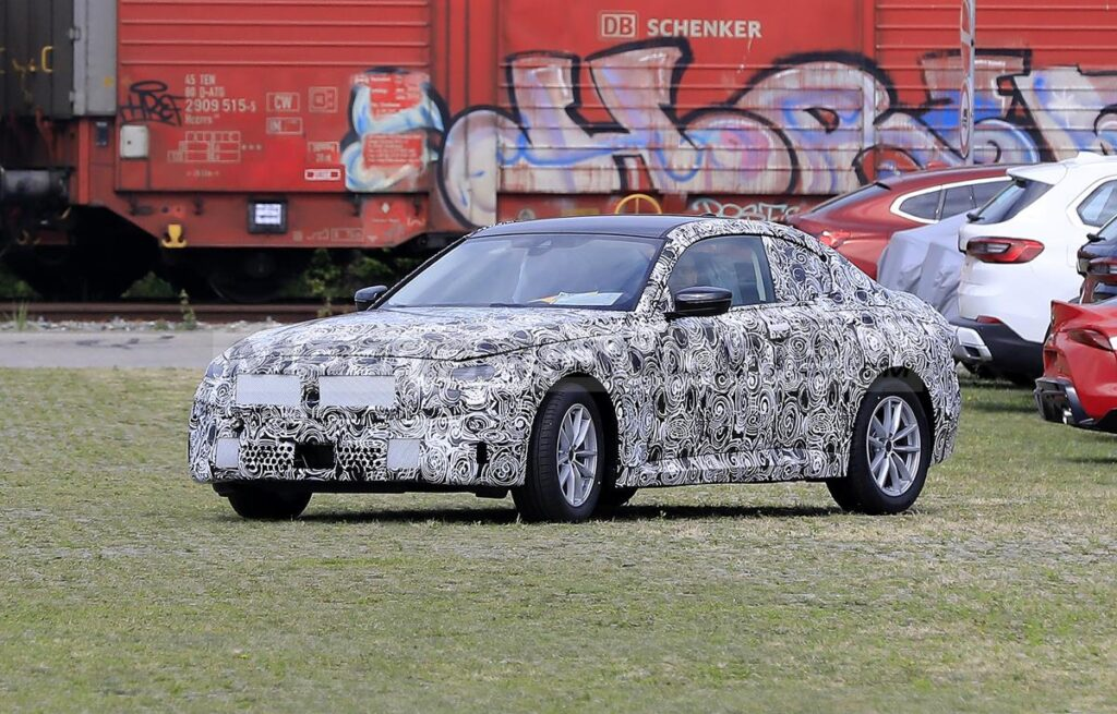 BMW Serie 2 Coupe 2021 - Foto spia 16-07-2020