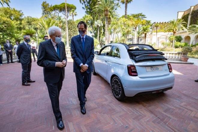 Presentata al Presidente Mattarella la nuova 500
