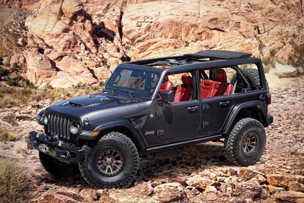 Jeep Wrangler Rubicon 392 Concept: la novità off-road con il motore V8 Hemi da 6.4 litri