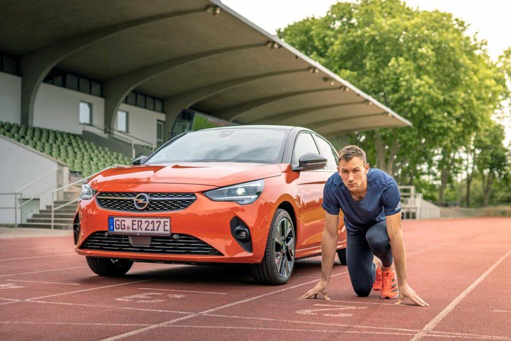 Opel Corsa-e - Niklas Kaul
