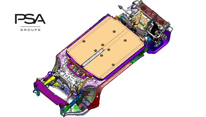 PSA: la nuova piattaforma eVMP per i veicoli elettrici, anche per FCA