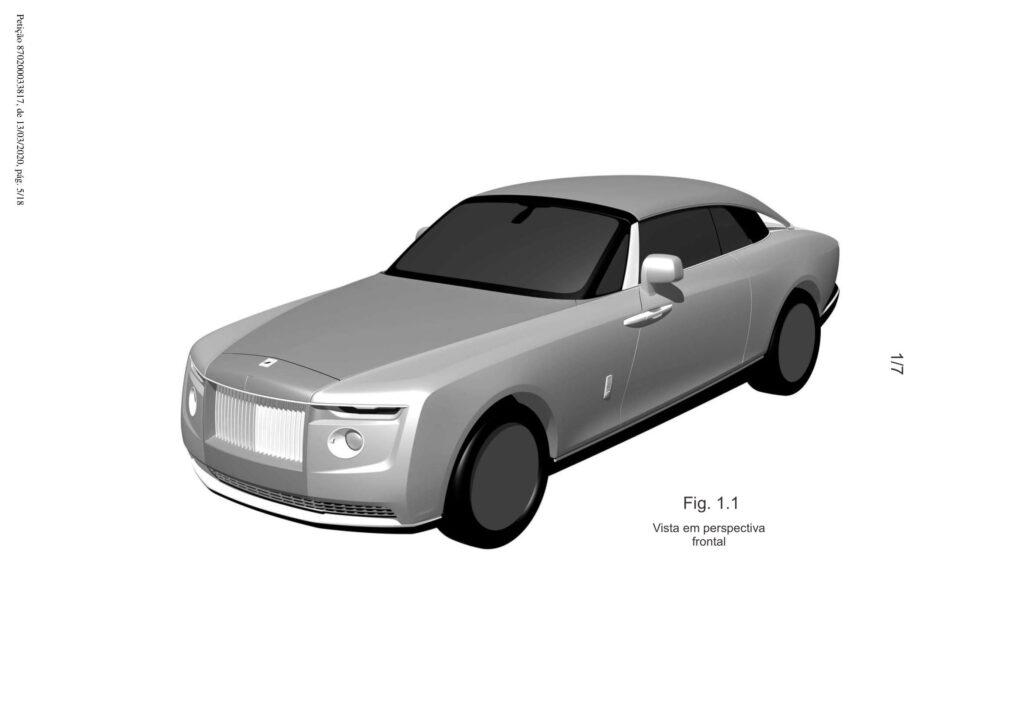 Rolls-Royce - One-off 2020 bozzetti