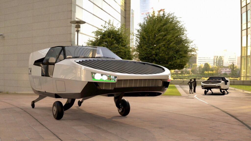 Macchina volante, il progetto dei veicoli CityHawk a idrogeno di Urban Aeronautics [VIDEO]