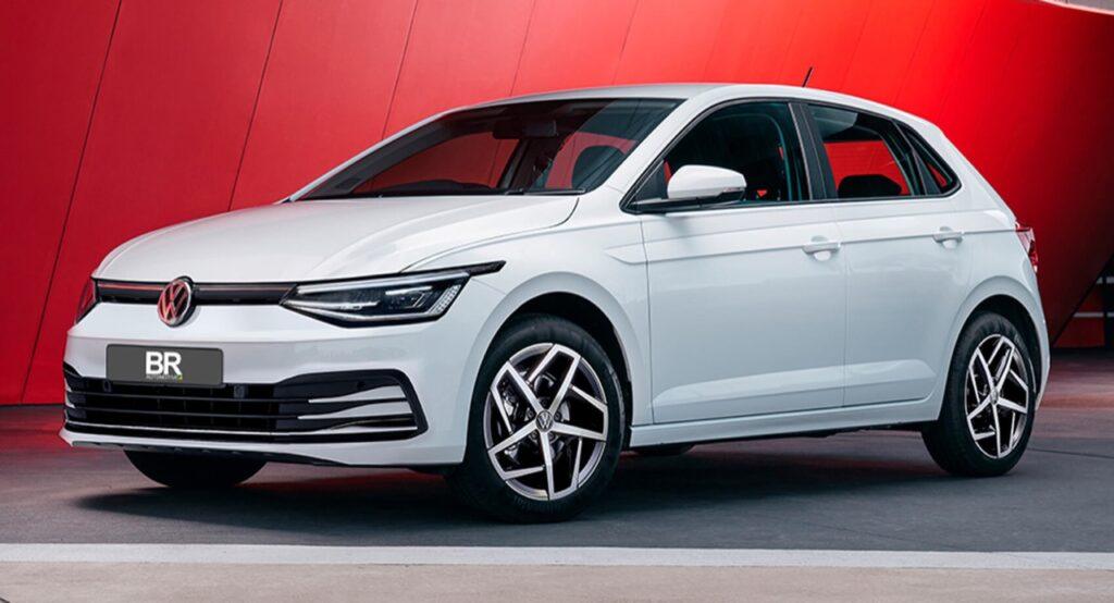 Volkswagen Polo 2022: viene immaginato il restyling della citycar tedesca [RENDER]