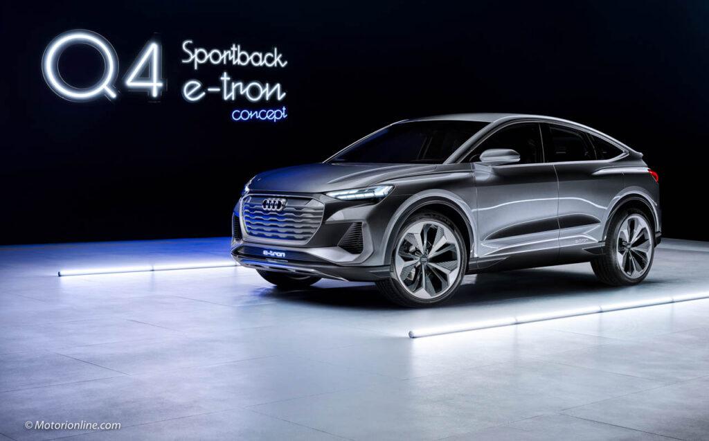 Audi Q4 Sportback e-tron Concept - Prime foto ufficiali