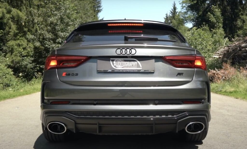 Audi RS Q3 Sportback: il tuning di ABT la spinge a 440 CV, che SOUND! [VIDEO]