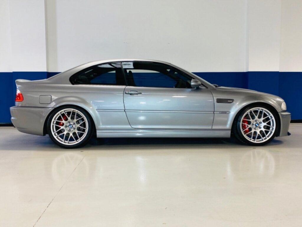 BMW M3 CSL: un esemplare in vendita all'asta, mettete da parte i risparmi