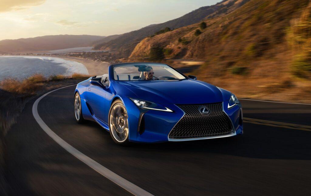Lexus LC Convertible 2020: via alle vendite, da 125.000 euro