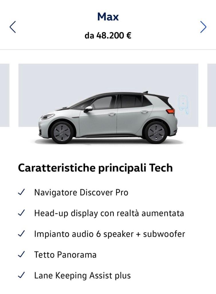 Volkswagen ID.3: guida all'acquisto con prezzi, configuratore e allestimenti