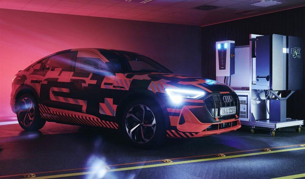 Audi: la ricarica bidirezionale per abbattere costi e dare stabilità