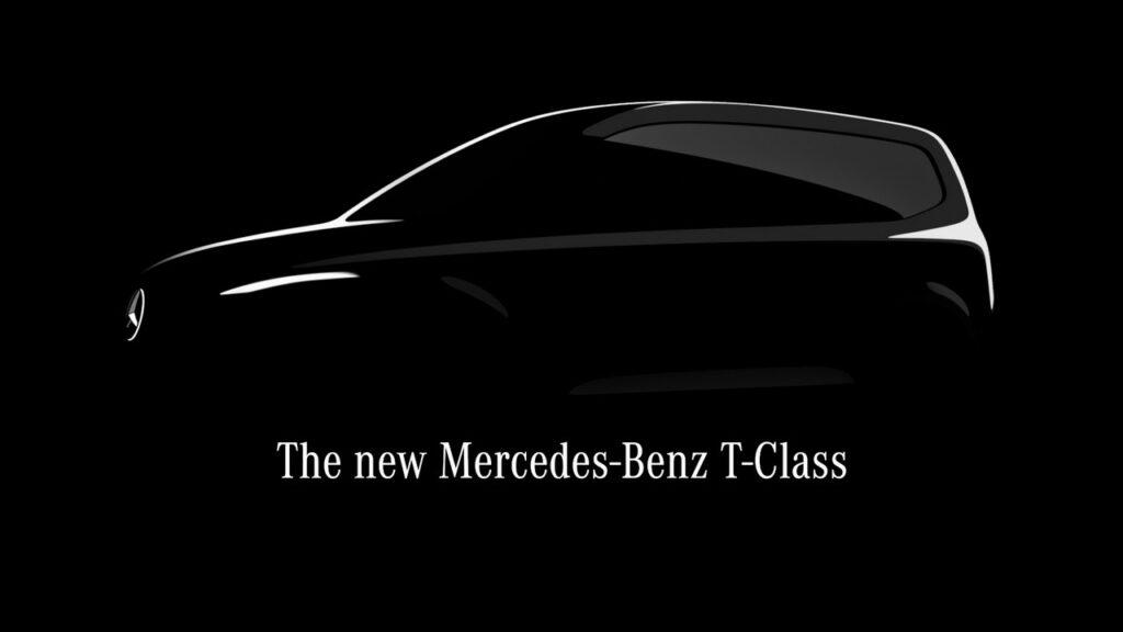 Mercedes Classe T: in arrivo un van compatto per le famiglie [TEASER]