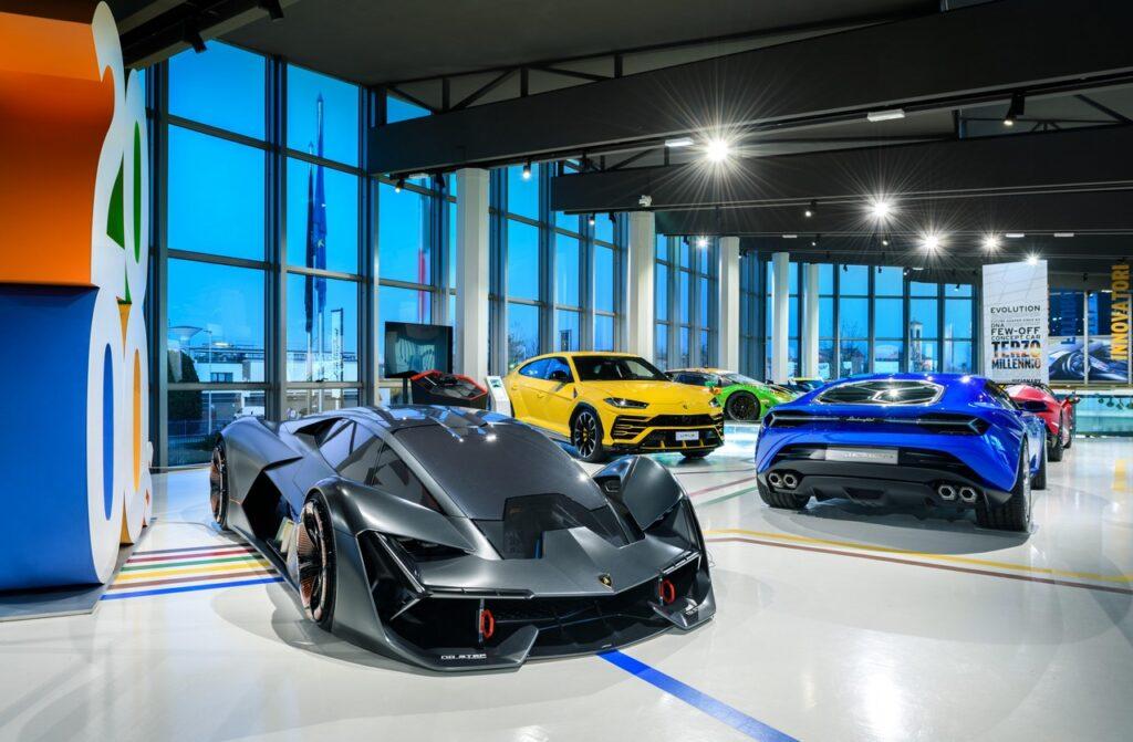 Museo Lamborghini: riapre al pubblico e c'è la Sian Roadster