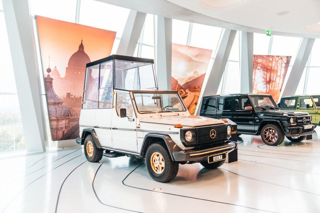 Papamobile: la Mercedes Classe G del Papa compie 40 anni
