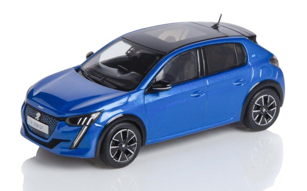 Peugeot 208 2020: la vettura del Leone diventa anche un modellino
