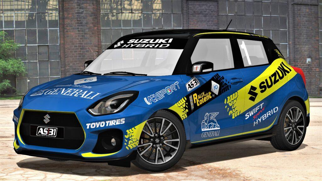 ACI Rally Italia Talent 2020: riprendono le selezioni con Suzuki Swift Sport Hybrid