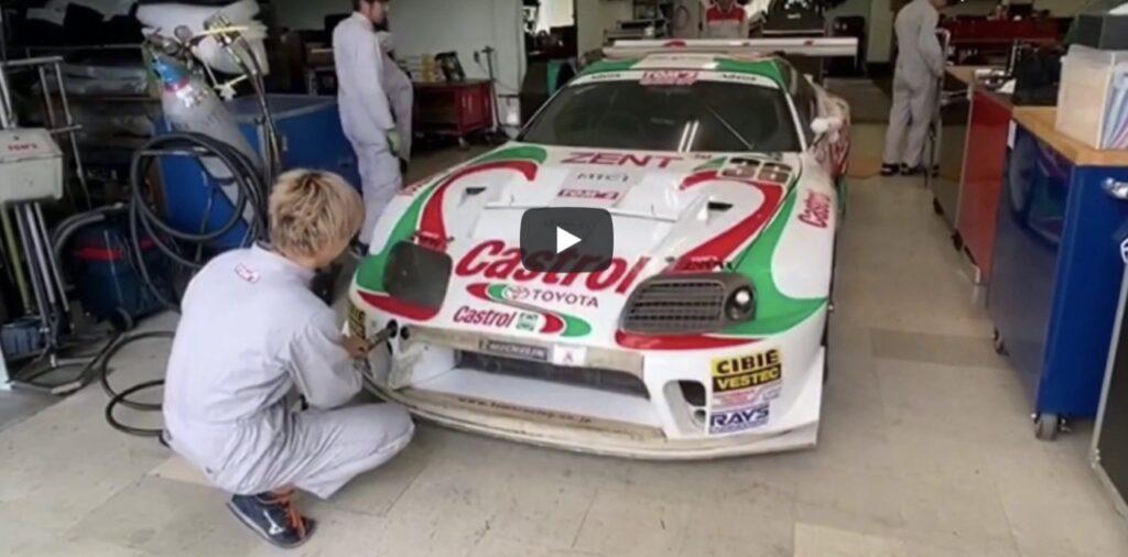 Toyota Supra: ritrovato e restaurato un esemplare Castrol TOM's Racing da pista [VIDEO]