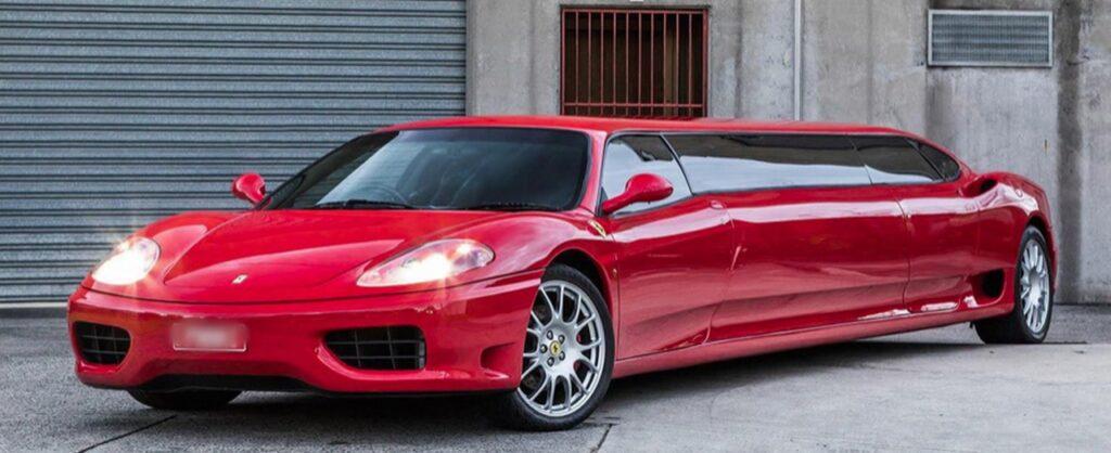 Ferrari 360 Modena Limousine in vendita. Prezzo? 240.000 euro [VIDEO]