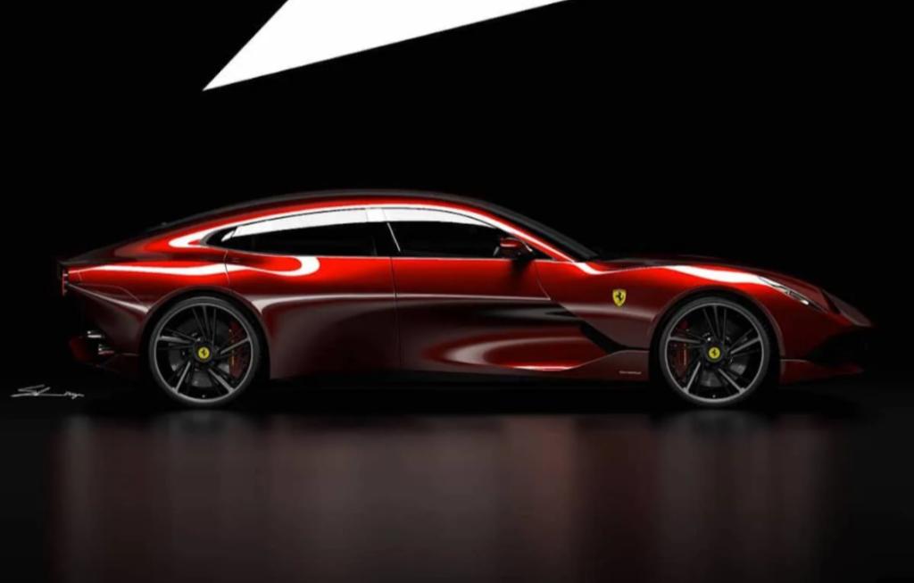 Ferrari GTC4 Grand Lusso: l'idea di un nuova elegante quattro porte [RENDERING]