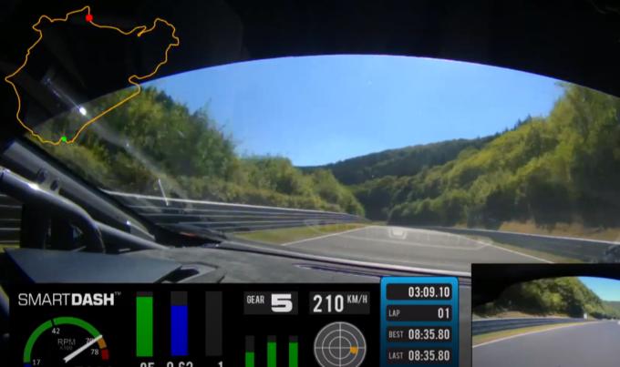 Lamborghini Huracan da 1.200 CV: sul tuning di Zyrus scoppia un pneumatico a 210 km/h [VIDEO]