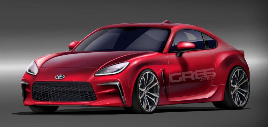 Toyota GR86 2021: la coupé sportiva arriverà l'anno prossimo [RENDER]